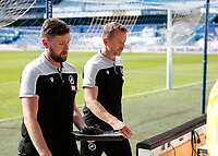 18th July 2020; The Kiyan Prince Foundation Stadium, London, England; English Championship Football, Queen Park Rangers versus Millwall; A disappointed Millwall Manager Gary Rowett walking towards the away tunnel after full time