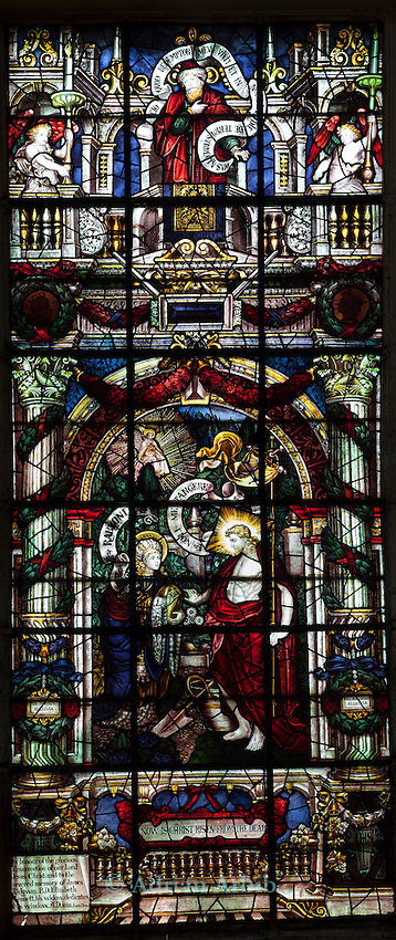 Window 3/South Wall Centre/In the Garden with Mary Magdalen