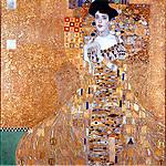 Portrait of Adele Block-Bauer I, by Gustav Klimt (1862-1918). Oil on canvas, 138x138  cm, 1907. Oesterreichische Galerie im Belvedere, Vienna, Austria.