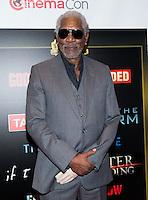LAS VEGAS, NV - March 27: Morgan Freeman pictured arriving at Warner Broters Presentation at Cinemacon 2014 at Caesars Palace in Las Vegas, NV on March 27, 2014. © Kabik/ Starlitepics