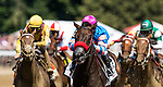 AUG 24: Come Dancing with Javier Castellano up wins the Ballerina  Stakes at Saratoga Racecourse in New York on August 24, 2019. Evers/Eclipse Sportswire/CSM