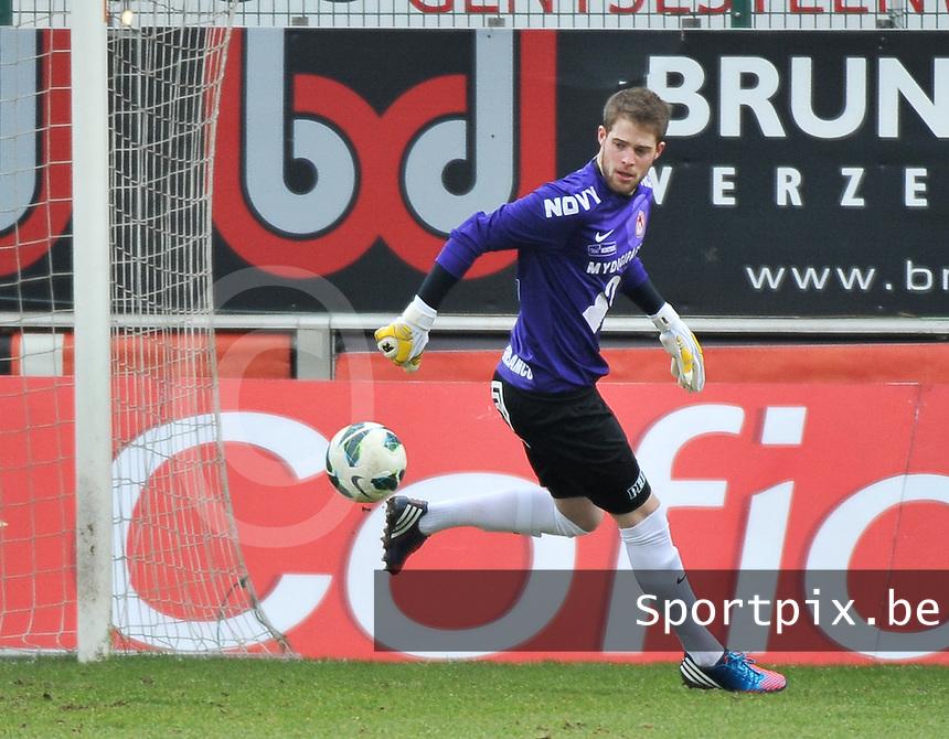 KV Kortrijk : Remi Pillot.foto VDB / BART VANDENBROUCKE