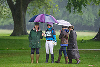 The day started out DARK & VERY WET, but grew into rather a nice day: 2014 GBR-Houghton International Horse Trail (Saturday 24 May) CREDIT: Libby Law COPYRIGHT: LIBBY LAW PHOTOGRAPHY - NZL