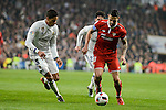 "Real Madrid's Raphael Varane and Francisco Roman ""Isco"" and Sevilla FC's Victor ""Vitolo"" Machin during Copa del Rey match between Real Madrid and Sevilla FC at Santiago Bernabeu Stadium in Madrid, Spain. January 04, 2017. (ALTERPHOTOS/BorjaB.Hojas)"