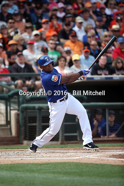 Adrian Beltre - Texas Rangers 2016 spring training (Bill Mitchell)