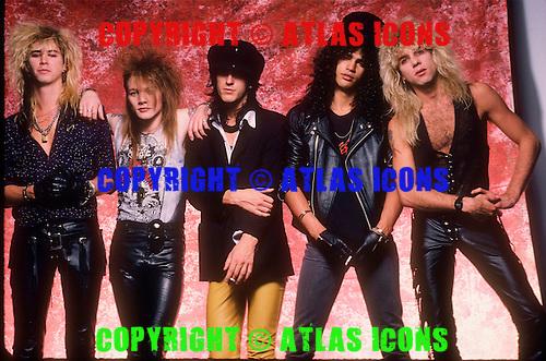 GUNS N ROSES, STUDIO, 1987, NEIL ZLOZOWER