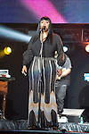 NEW ORLEANS, LA - JULY 5: Jill Scott performs during the 2014 Essence Music Festival at the Mercedes-Benz Superdome on July 5, 2014 in New Orleans, Louisiana. Photo Credit: Morris Melvin / Retna Ltd.