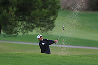 Jose-Filipe Lima (POR) on the 7th during Round 2 of the Challenge Tour Grand Final 2019 at Club de Golf Alcanada, Port d'Alcúdia, Mallorca, Spain on Friday 8th November 2019.<br /> Picture:  Thos Caffrey / Golffile<br /> <br /> All photo usage must carry mandatory copyright credit (© Golffile | Thos Caffrey)