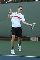 STANFORD, CA - NOVEMBER 16:  Bradley Klahn of the Stanford Cardinal during photo day on November 16, 2009 at the Taube Family Tennis Stadium in Stanford, California.