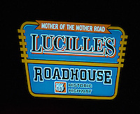 Lucille's Roadhouse is inspired by the original Lucille's on Route 66 in nearby Hydro, Okla., which was operated by her mother Lucille Hamons for decades until her death in 2000. The new Lucille's Roadhouse is the brainchild of Rick Koch, a Route 66 enthusiast, owner of the Holiday Inn, and a prominent Oklahoma oil man.<br /> Mr. Koch, in addition to building the new Lucille's Roadhouse, also purchased the original Lucille's and fixed up the once deteriorating property thus giving it a long term historic face lift for future travelers.