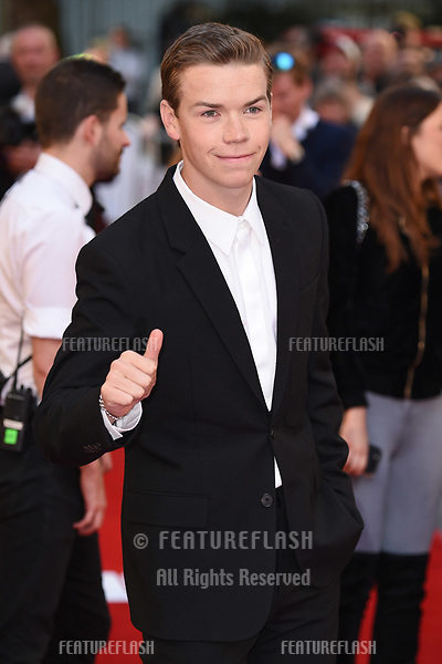 Will Poulter at the premiere of &quot;Detroit&quot; at the Curzon Mayfair, London, UK. <br /> 16 August  2017<br /> Picture: Steve Vas/Featureflash/SilverHub 0208 004 5359 sales@silverhubmedia.com