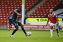Francis Zoko of Stevenage scores<br />  - Walsall v Stevenage - Sky Bet League One - Banks's Stadium, Walsall - 19th October 2013. <br /> © Kevin Coleman 2013