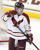 Tim Doyle (BC - 38) - The Boston College Eagles defeated the visiting Boston University Terriers 6-2 in ACHA play on Sunday, December 4, 2011, at Kelley Rink in Conte Forum in Chestnut Hill, Massachusetts.
