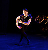 English National Ballet <br /> Emerging Dancer 2015 <br /> at Queen Elizabeth Hall, Southbank, London, Great Britain <br /> 23rd March 2015 <br /> <br /> <br /> <br /> <br /> <br /> Jinhao Zhang in Dying Swan <br /> <br /> <br /> <br /> Photograph by Elliott Franks <br /> Image licensed to Elliott Franks Photography Services