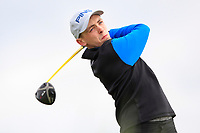 Aaron Ryan (Thurles) on the 2nd tee during Round 2 of The East of Ireland Amateur Open Championship in Co. Louth Golf Club, Baltray on Sunday 2nd June 2019.<br /> <br /> Picture:  Thos Caffrey / www.golffile.ie<br /> <br /> All photos usage must carry mandatory copyright credit (© Golffile   Thos Caffrey)