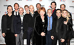 L to R: Denis O'Hare, Neil Patrick Harris, Jeffrey Kuhn, Eamon Foley, Michael Cerveris, Marc Kudisch, Becky Ann Baker, John Weidman, James Barbour, Mario Cantone, Alexander Germignani & Annaleigh Ashford attending the Roundabout Theatre Company's One Night Only Benefit Cast Party for 'Assassins' at Studio 54 in New York City. December 3, 2012.