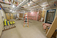 Major Renovation Litchfield Hall WCSU Danbury CT<br /> Connecticut State Project No: CF-RD-275<br /> Architect: OakPark Architects LLC  Contractor: Nosal Builders<br /> James R Anderson Photography New Haven CT photog.com<br /> Date of Photograph: 28 February 2017<br /> Camera View: 21 - Second Floor, West Lounge 267