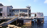Monterey CA:  Monterey Bay Aquarium. Esherick, Homsey, Dodge & Davis, 1984.  Photo '85.