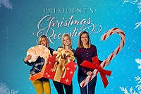 Annual President's Christmas Reception photo booth photographed on December 21, 2017. (Photo by Leah Seavers)
