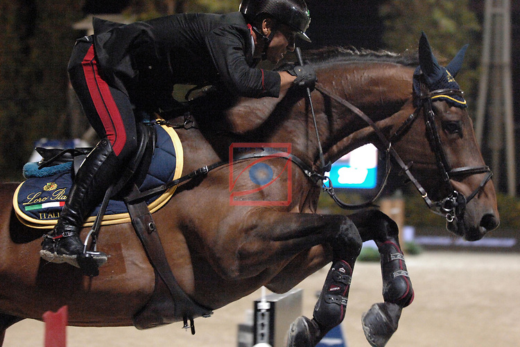 CSIO Barcelona 2018.<br /> Longines-Jumping Nations Cup-Barcelona 2018.<br /> Luca Marziani.