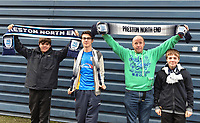 Preston supporters arrive at The Den<br /> <br /> Photographer Jon Hobley/CameraSport<br /> <br /> The EFL Sky Bet Championship - Millwall v Preston North End - Saturday 13th January 2018 - The Den - London<br /> <br /> World Copyright &copy; 2018 CameraSport. All rights reserved. 43 Linden Ave. Countesthorpe. Leicester. England. LE8 5PG - Tel: +44 (0) 116 277 4147 - admin@camerasport.com - www.camerasport.com