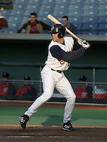 May 5, 2004:  Glenn Williams of the Syracuse Sky Chiefs, Class-AAA International League affiliate of the Toronto Blue Jays, during a game at P&C Park in Syracuse, NY.  Photo by:  Mike Janes/Four Seam Images