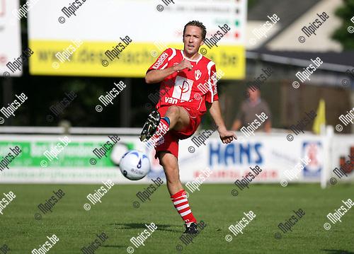 2009-07-19 / Seizoen 2009-2010 / Voetbal / TSV Lyra / Tom Blommaerts..Foto: Maarten Straetemans (SMB)