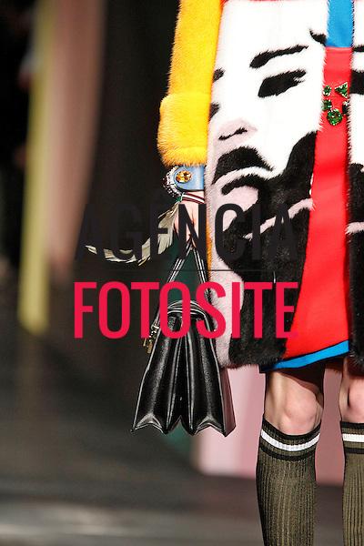 Milao, Italia &sbquo;19/09/2013 - Desfile de Prada durante a Semana de moda de Milao - Verao 2014. <br /> Foto: FOTOSITE