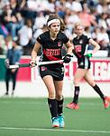 AMSTELVEEN - Hockey - Hoofdklasse competitie dames. AMSTERDAM-DEN BOSCH (3-1). Noor de Baat (A'dam)      COPYRIGHT KOEN SUYK
