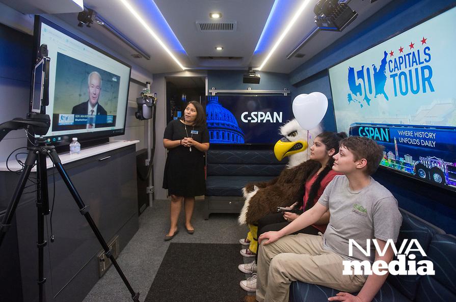 BC FEA CSPAN Bus 2-15 | NWA Democrat-Gazette