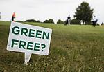 GROESBEEK - Green Free?  Nijmeegse baan hole 15. Is de green verlaten?  Golfbaan Het Rijk van Nijmegen. COPYRIGHT  KOEN SUYK