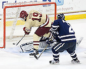 Chris Kreider (BC - 19) - The Boston College Eagles defeated the visiting University of New Hampshire Wildcats 4-3 on Friday, January 27, 2012, in the first game of a back-to-back home and home at Kelley Rink/Conte Forum in Chestnut Hill, Massachusetts.