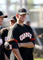 Tim Alderson / San Francisco Giants 2008 Instructional League..Photo by:  Bill Mitchell/Four Seam Images