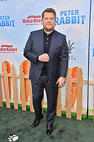 James Corden at the world premiere for &quot;Peter Rabbit&quot; at The Grove, Los Angeles, USA 03 Feb. 2018<br /> Picture: Paul Smith/Featureflash/SilverHub 0208 004 5359 sales@silverhubmedia.com