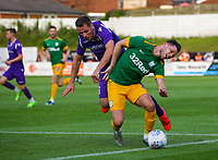 Preston North End's Alan Browne is fouled on the edge of the box<br /> <br /> Photographer Alex Dodd/CameraSport<br /> <br /> Football Pre-Season Friendly - Chorley v Preston North End - Tuesday July 16th 2019  - Victory Park - Chorley<br /> <br /> World Copyright © 2019 CameraSport. All rights reserved. 43 Linden Ave. Countesthorpe. Leicester. England. LE8 5PG - Tel: +44 (0) 116 277 4147 - admin@camerasport.com - www.camerasport.com