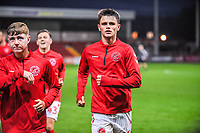 Fleetwood Town's midfielder Lawrence Smith (45) during the The Leasing.com Trophy match between Fleetwood Town and Liverpool U21 at Highbury Stadium, Fleetwood, England on 25 September 2019. Photo by Stephen Buckley / PRiME Media Images.