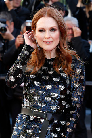 "Julianne Moore at the ""Okja"" premiere during the 70th Cannes Film Festival at the Palais des Festivals on May 19, 2017 in Cannes, France. (c) John Rasimus /MediaPunch ***FRANCE, SWEDEN, NORWAY, DENARK, FINLAND, USA, CZECH REPUBLIC, SOUTH AMERICA ONLY***"