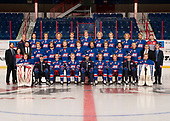 Brooks, AB - May 10 2019 - Oakville Blades during the 2019 National Junior A Championship at the Centennial Regional Arena in Brooks, Alberta, Canada (Photo: Matthew Murnaghan/Hockey Canada)