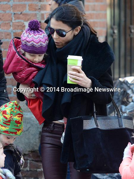 Pictured: Bethenny Frankel, Bryn Hoppy<br /> Mandatory Credit &copy; Jayme Oak/Broadimage<br /> Betheny Frankel picks up her daughter from school in NYC<br /> <br /> 3/13/14, New York, New York, United States of America<br /> <br /> Broadimage Newswire<br /> Los Angeles 1+  (310) 301-1027<br /> New York      1+  (646) 827-9134<br /> sales@broadimage.com<br /> http://www.broadimage.com