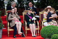 Prince Lorenz of Belgium & Princess Astrid - National Day