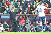 12th September 2017, Villa Park, Birmingham, England; EFL Championship football, Aston Villa versus Middlesbrough; Garry Monk Manager of Middlesbrough is shocked at the referees decision