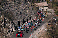 neutralised section to the start<br /> <br /> 76th Paris-Nice 2018<br /> stage 6: Sisteron &gt; Vence (198km)