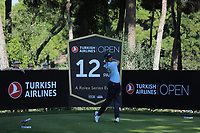 Nacho Elvira (ESP) during the second round of the Turkish Airlines Open, Montgomerie Maxx Royal Golf Club, Belek, Turkey. 08/11/2019<br /> Picture: Golffile | Phil INGLIS<br /> <br /> <br /> All photo usage must carry mandatory copyright credit (© Golffile | Phil INGLIS)