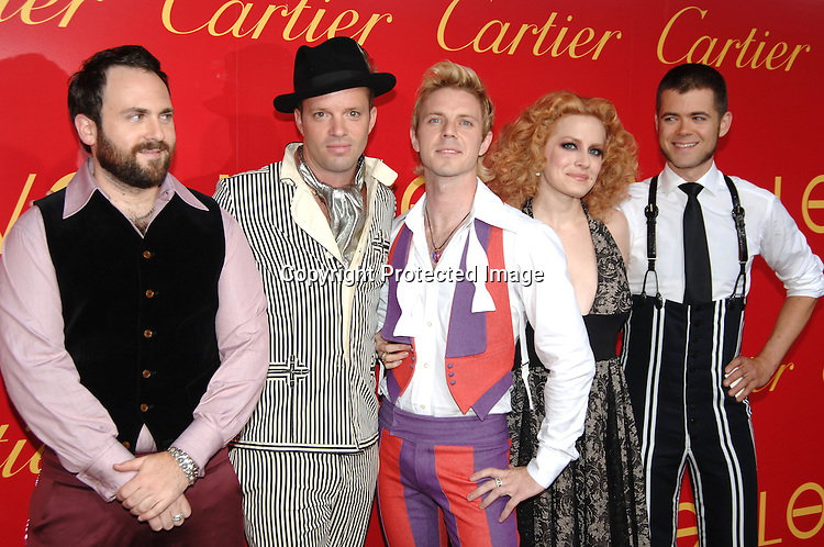 The Scissor Sisters..arriving at The Cartier and Interview Magazine Party ..for the new Charity Love Bracelet on June 8, 2006 at ..The Cartier Mansion. ..Robin Platzer, Twin Images