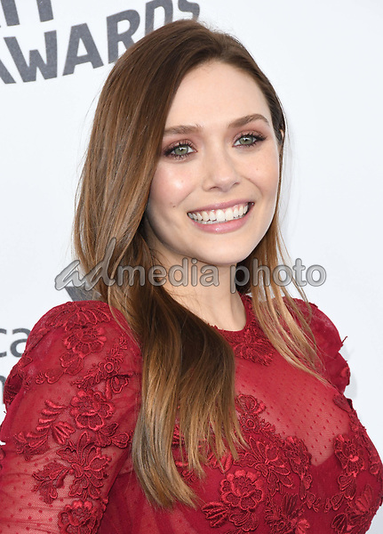 03 March 2018 - Santa Monica, California - Elizabeth Olsen. 2018 Film Independent Spirit Awards -Arrivals, held at the Santa Monica Pier. Photo Credit: Birdie Thompson/AdMedia