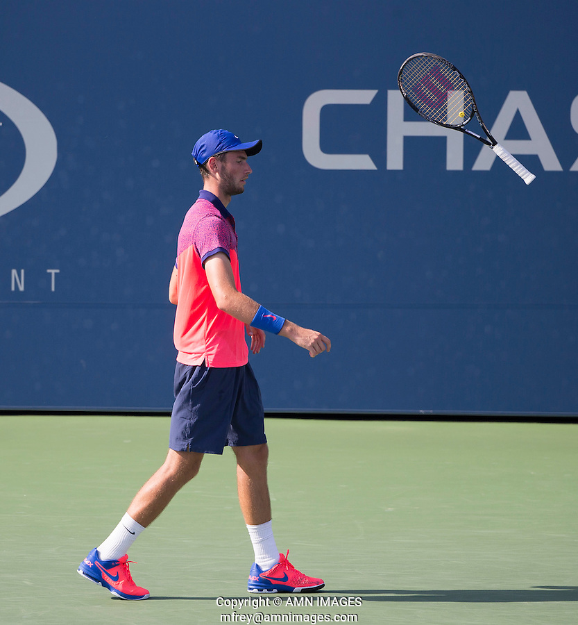 QUINTIN HALYS (FRA)<br /> The US Open Tennis Championships 2014 - USTA Billie Jean King National Tennis Centre -  Flushing - New York - USA -   ATP - ITF -WTA  2014  - Grand Slam - USA  <br /> 7th September 2014. <br /> <br /> &copy; AMN IMAGES