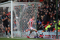 James McClean of Stoke City celebrates scoring the opening goal during Stoke City vs Charlton Athletic, Sky Bet EFL Championship Football at the bet365 Stadium on 8th February 2020