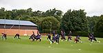 Rangers training at Auchenhowie