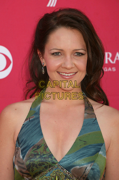 CARLY GOODWIN.42nd Annual Academy Of Country Music Awards held at the MGM Grand Garden Arena, Las Vegas, Nevada, USA..May 15th, 2007.headshot portrait cleavage green blue .CAP/ADM/BP.©Byron Purvis/AdMedia/Capital Pictures
