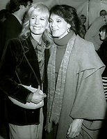 Valerie Harper and Loretta Swit 1981<br /> Photo By John Barrett/PHOTOlink